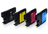Brother-LC1100 - Brother Compatible LC1100 Ink Cartridges - 4 Item Multipack