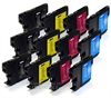 Brother Compatible LC1100 Ink Cartridges - 12 Item Multipack