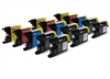 Brother Compatible Ink Cartridges - LC1240 / LC1220 CMYK/K - 15 item Multipack