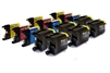 Brother Compatible Ink Cartridges - LC1280CMYK/K - 15 item Multipack