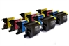 Brother Compatible Ink Cartridges - LC1280CMYK - 12 item Multipack