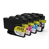 LC3235XL Cyan, Magenta, Yellow & Black High Capacity Compatible Ink Cartridges LC-3235
