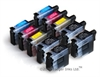 Brother Compatible Ink Cartridges 10 Item Multipack- CMYK+Bkx2 of LC09 / LC41 / LC47 / LC900 / LC950