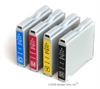 Brother Compatible LC970 Ink Cartridges - 4 Item Multipack