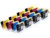 Brother Compatible Ink Cartridges 16 Item Multipack LC985 / LC39