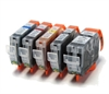 Canon Compatible Ink Cartridges - 5 Item Multipack