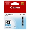 Canon 42 Original Photo Cyan Ink Cartridge - CLI42PC