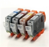 Canon Compatible Ink Cartridges - 4 Item Multipack - CLI8CMYK