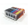 Canon Compatible Ink Cartridges 5 Item Multipack - PGI-570 CLI-571