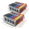 Canon Compatible Ink Cartridges 10 Item Multipack - PGI-570 CLI-571