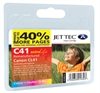 CL41 Colour Remanufactured Canon Ink Cartridge