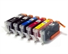 Canon Compatible Ink Cartridges - 6 Item Multipack incl. Grey - PGI-550 CLI-551