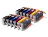 Canon Compatible Ink Cartridges - 12 Item Multipack incl. Grey - PGI-550 CLI-551