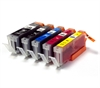 Canon Compatible Ink Cartridges - 5 Item Multipack - PGI-550 CLI-551