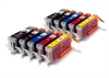Canon Compatible Ink Cartridges - 2 Sets - 10 Item Multipack - PGI-550 CLI-551