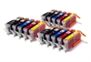 Canon Compatible Ink Cartridges - 3 Sets - 15 Item Multipack - PGI-550 CLI-551