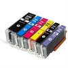 Canon PGI-580XXLBK / CLI-581XXL BK/C/M/Y/PB Compatible Ink Cartridge 6 item Multipack