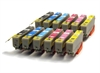 Epson 24 Compatible Ink Cartridges Elephant Series -12 Item Multipack