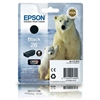 Epson 26 Black Original Ink Cartridge Polar Bear Series