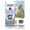 Epson 26 Magenta Original Ink Cartridge 26 Polar Bear Series