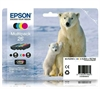 Epson 26 Original Ink Cartridges Polar Bear Series 26 - 4 item Multipack