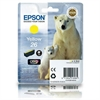 Epson 26 Yellow Original Ink Cartridge 26 Polar Bear Series