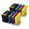 Epson 27XL x2 Full Sets Compatible Ink Cartridges Alarm Clock Series - 8 item Multipack