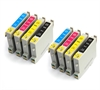 Epson Compatible Ink Cartridges - 8 item Multipack TO615 / T0615 / E-615