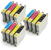 Epson Compatible Ink Cartridges - 12 item Multipack TO615 / T0615 / E-615