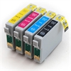 Epson Compatible Ink Cartridges 4 Item Multipack - T0715 / TO715 / E-715 / E-895