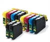 Epson Compatible 10 Item Multipack Ink Cartridges Fox Series T1285 + T1281