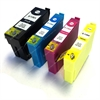 Epson Compatible Black, Cyan, Magenta & Yellow Ink Cartridges Stag Series T1304