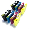 Epson Compatible Black, Cyan, Magenta & Yellow Ink Cartridges Stag Series T1304 - 8 item Multipack