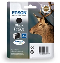 T1301 T1302 T1303 T1304 - Epson Original Black Ink Cartridge Stag Series T1301