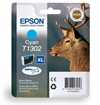Epson Original Cyan Ink Cartridge Stag Series T1302