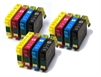 T1816 Compatible Ink Cartridges Daisy Series 18XL Series - 12 Item Multipack
