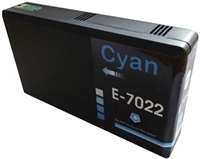 T702 - T7022 / E7022 - Epson Compatible Cyan XL Ink Cartridge