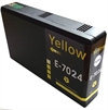 T7024 / E7024 - Epson Compatible Yellow XL Ink Cartridge