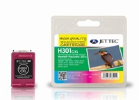 HP301XL Jettec Tri-Colour Remanufactured Printer Ink Cartridge