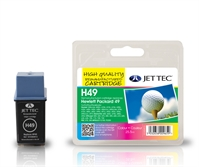 HP49 JetTec Remanufactured Colour Ink Cartridge H49