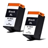 HP 903XL Black Twin Pack Badger Remanufactured Ink Cartridges HP903XL - 2 item multipack