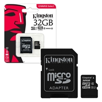 Kingston 32 GB Micro SDHC Class 10 UHS 1 High Speed Memory Card