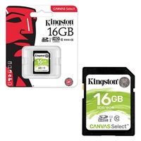 Kingston 16 GB SDHC Class 10 UHS 1 High Speed Memory Card