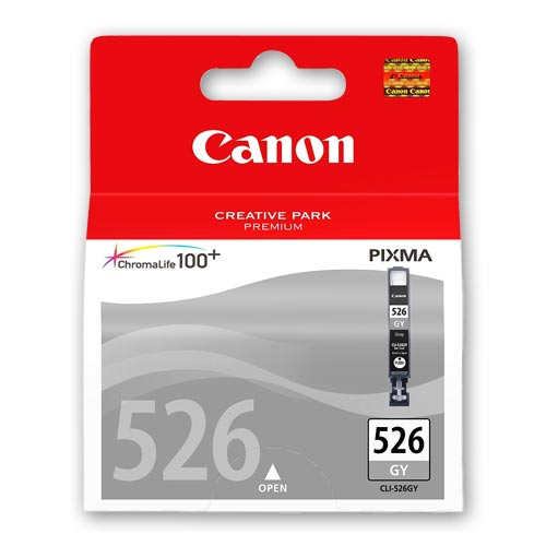 Canon 526 Original Grey Ink Cartridge - CLI526GY