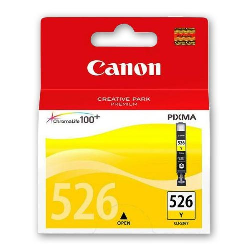 Canon 526 Original Yellow Ink Cartridge - CLI526Y
