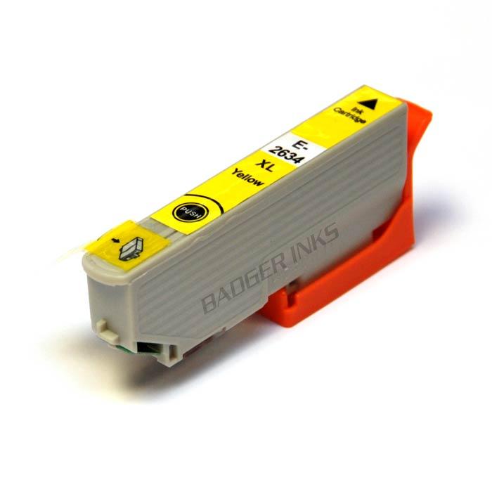 Epson 26 XL Yellow Compatible Ink Cartridge Polar Bear Series