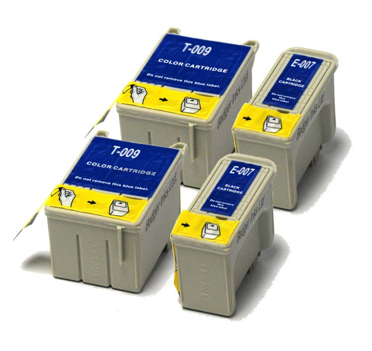Epson Compatible Ink Cartridges - 4 item Multipack T007 / T009