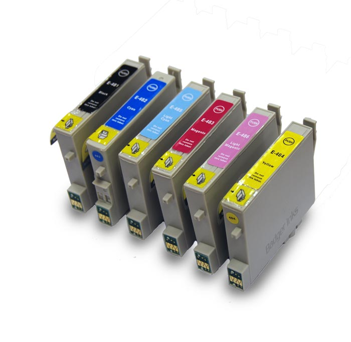 Epson Stylus Photo R220 Printer Ink Cartridges T0487 Epson