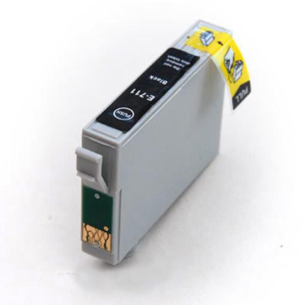 Ongekend T0711 - Epson Compatible Black Ink Cartridge - T0711 / TO711 / E DZ-66
