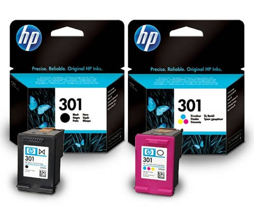 ink cartridges hp 301 black colour original printer ink cartridge hp301 - Hp 301 Tri Color Ink Cartridge